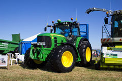 John Deere 7530 tractor Stock Photos