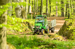 John Deere tractor Royalty Free Stock Photos