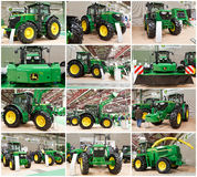 John Deere Tractors Royalty Free Stock Photography