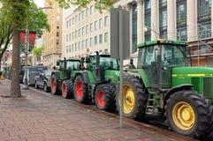 John Deere Tractors Canada Lizenzfreies Stockfoto