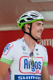 John Degenkolb at Vuelta 2012. John Degenkolb has won five stages in the last Vuelta, becaming the the most successful cyclist in this edition of the race Stock Photo
