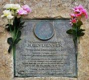John Denver Memorial Imágenes de archivo libres de regalías