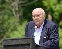 John Dingell no cumprimento do Memorial Day Fotos de Stock