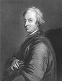 John Dryden. (1631-1700) on engraving from the 1800s. Influential English poet, literary critic, translator and playwright who dominated the literary scene of Stock Image