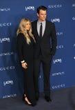 John Duhamel & Fergie royaltyfri foto