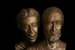 John e Peter, sorpresa di Pasqua Fotografie Stock