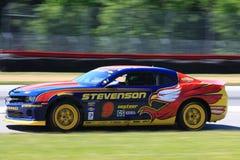 John Edwards races the Chevy Camaro Stock Photos
