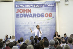 John Edwards Rally 78 Royalty Free Stock Photo