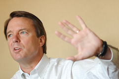 John Edwards, Senator, Candidate Royalty Free Stock Image
