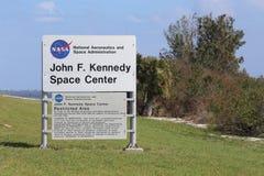 John F Centro Espacial Kennedy Fotografía de archivo