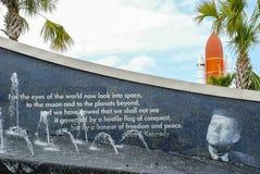 John F Centro Spaziale Kennedy immagini stock