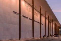 John F Het Centrum van Kennedy voor de Uitvoerende kunsten stock fotografie