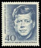 John F kennedy stockbild