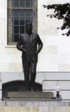 John F. Kennedy. The John Fitzgerald Kennedy statue at the Massachusetts State House in Boston Stock Photography