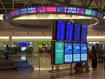 John F Kennedy Airport in New York lizenzfreies stockfoto