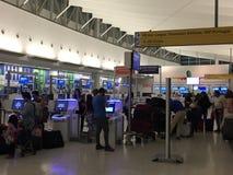 John F Kennedy Airport in New York lizenzfreies stockbild