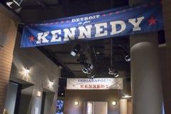 John F Kennedy biblioteka prezydencka obraz royalty free