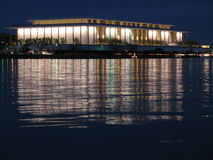 John F. Kennedy Center-Night Royalty Free Stock Image