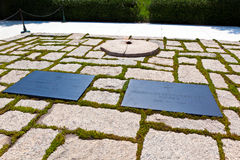 John F Kennedy Eternal Flame foto de stock