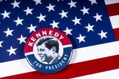 John F. Kennedy für US Präsidenten stockfotografie