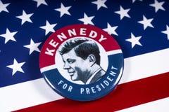 John F. Kennedy für US Präsidenten stockfoto