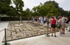John F. Kennedy  grave Stock Photos