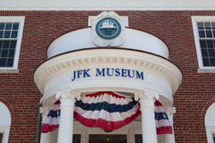 The John F. Kennedy Hyannis Museum Royalty Free Stock Photos