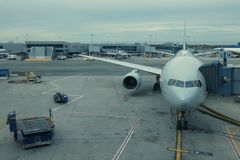John F. Kennedy International Airport stock photo