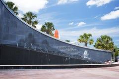 John F Kennedy Memorial, Kaap Canaveral, Florida Stock Fotografie
