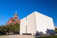 John F Kennedy Memorial Plaza à Dallas photos libres de droits