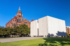 John F Kennedy Memorial Plaza à Dallas images stock