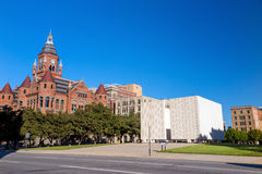John F Kennedy Memorial Plaza in Dallas Lizenzfreie Stockfotos