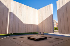 John F. Kennedy Memorial Plaza in Dallas. DALLAS, TEXAS-SEPTEMBER 25: John Fitzgerald Kennedy Memorial in downtown Dallas on September 25. 2014. This simple stock images