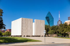 John F. Kennedy Memorial Plaza in Dallas Stock Photography