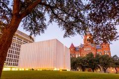 John F Kennedy Memorial Plaza em Dallas Fotografia de Stock