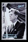 John F Kennedy Postage Stamp foto de archivo libre de regalías