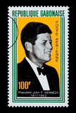 John F. Kennedy Postage Stamp Royalty Free Stock Photo
