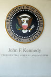 John F Kennedy Presidential Library images stock