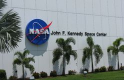 John F. Kennedy Space Center Image stock