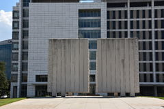John Fitzgerald Kennedy Memorial in Dallas, Texas Royalty Free Stock Photo