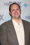 John Folino arriva al partito dell'inverno 2011 del TCA della VOLPE Immagini Stock