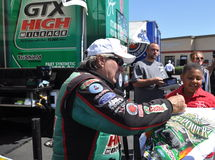 John Force Autograph Stock Image
