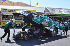 John Force Funny car Royalty Free Stock Photo