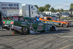 John force funny car Stock Images