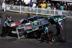 ?John Force? Gator Ingezetenen royalty-vrije stock foto's