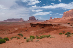 John Ford Point in Monument Valley Stock Images