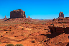 John Ford point. Monument Valley Stock Photography