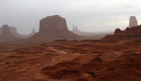 John Ford's Point - Monument Valley Royalty Free Stock Photos