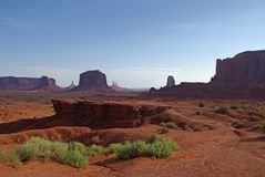 John Ford's Point at Monument Valley Royalty Free Stock Photography