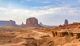 John fords place in monument valley national park Stock Photos